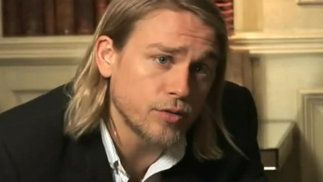 Was it really his busy tv schedule that made charlie hunnam drop his